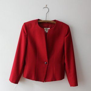 Vintage 70's London Fog Red Blazer